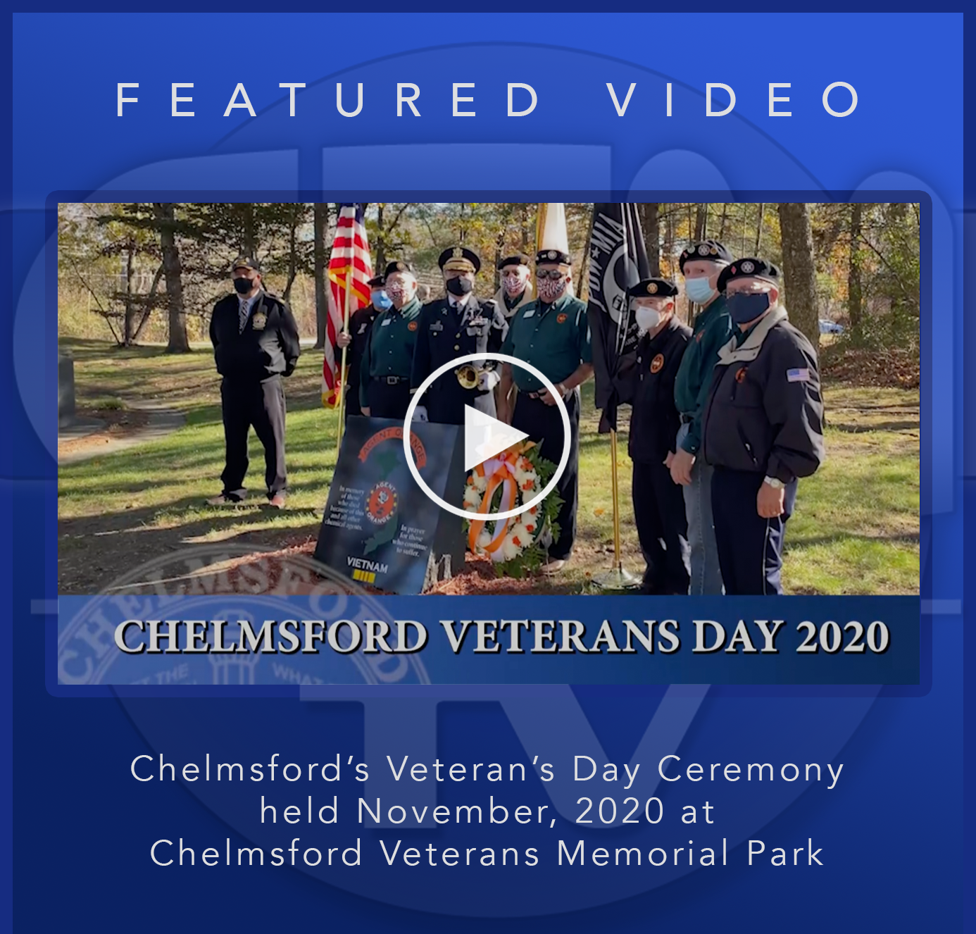 CTM Featured Video Veterans Day 2020