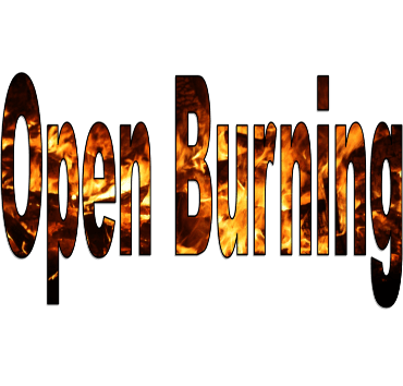 Open Burning Text