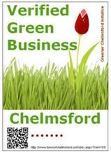 Verified Green Business Logo